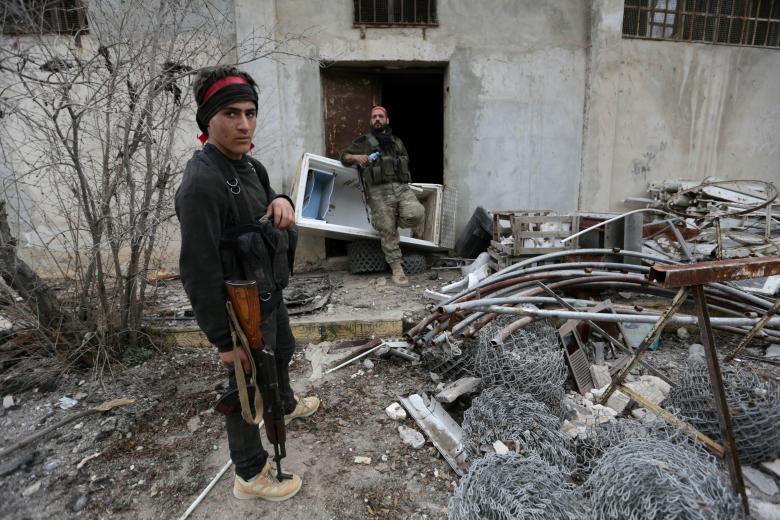 TSK destekli kuvvetlerin Suriye hamlesi 7