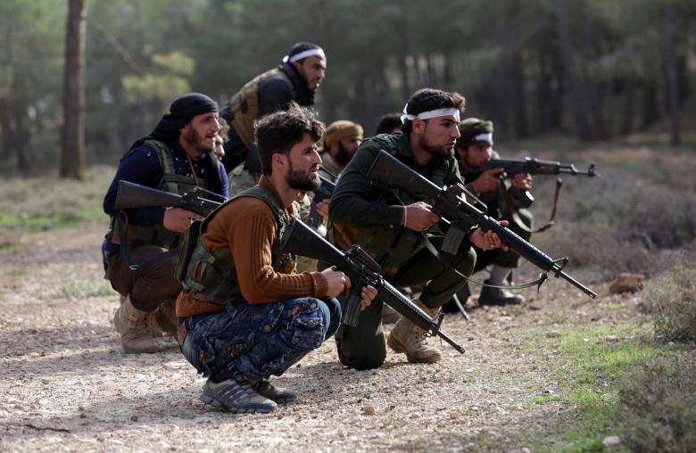TSK destekli kuvvetlerin Suriye hamlesi 8
