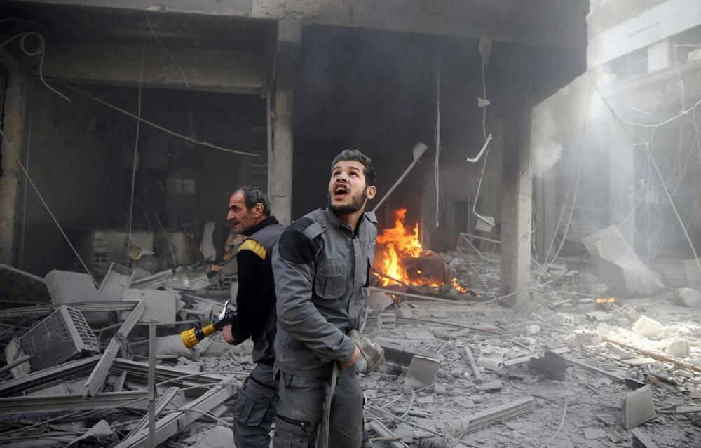 Doğu Guta Kuşatması ve Suriye'de Yedi Yıl Savaşı 1