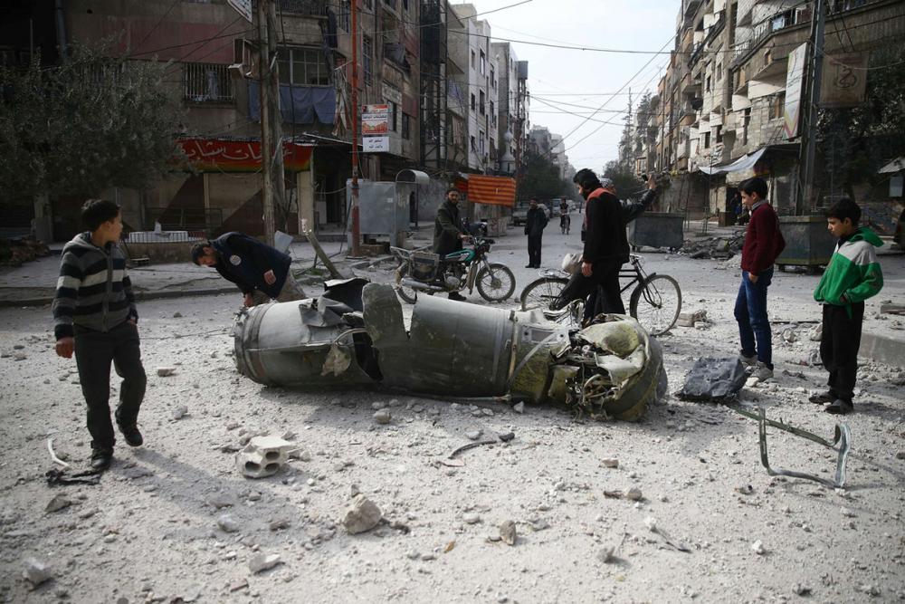 Doğu Guta Kuşatması ve Suriye'de Yedi Yıl Savaşı 12