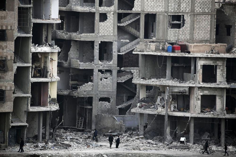 7'inci yılını bitiren Suriye iç savaşı 1