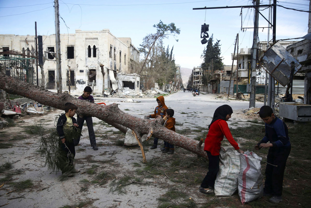 7'inci yılını bitiren Suriye iç savaşı 11