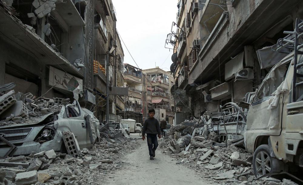 7'inci yılını bitiren Suriye iç savaşı 15