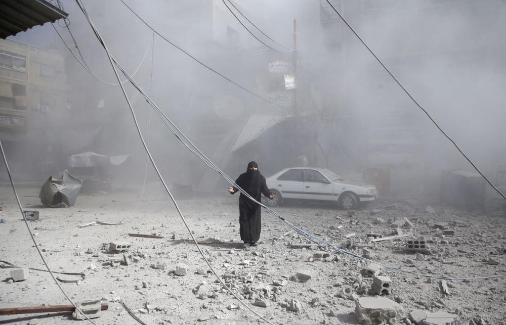 7'inci yılını bitiren Suriye iç savaşı 16