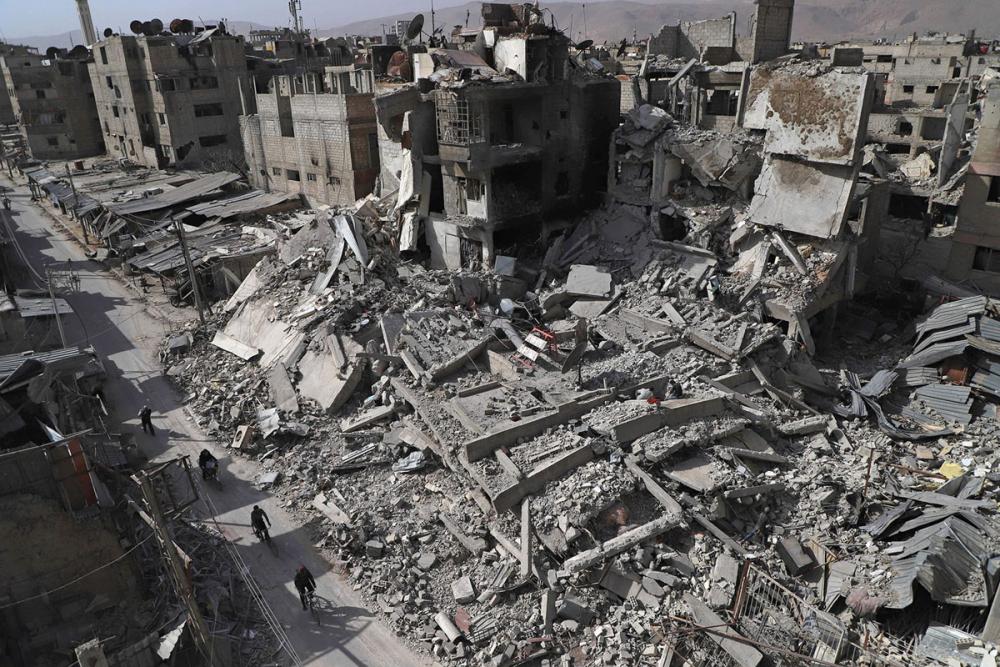 7'inci yılını bitiren Suriye iç savaşı 8