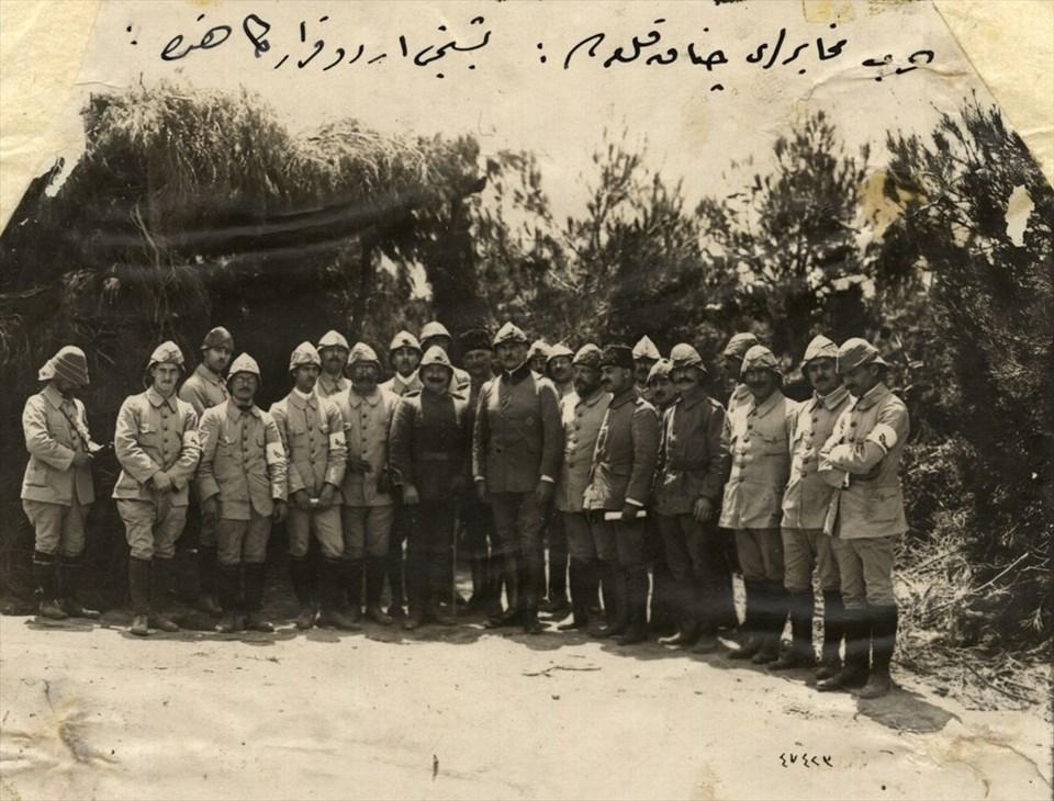 Genelkurmay arşivlerinden az bilinen Çanakkale fotoğrafları 15