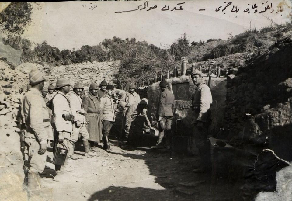Genelkurmay arşivlerinden az bilinen Çanakkale fotoğrafları 27