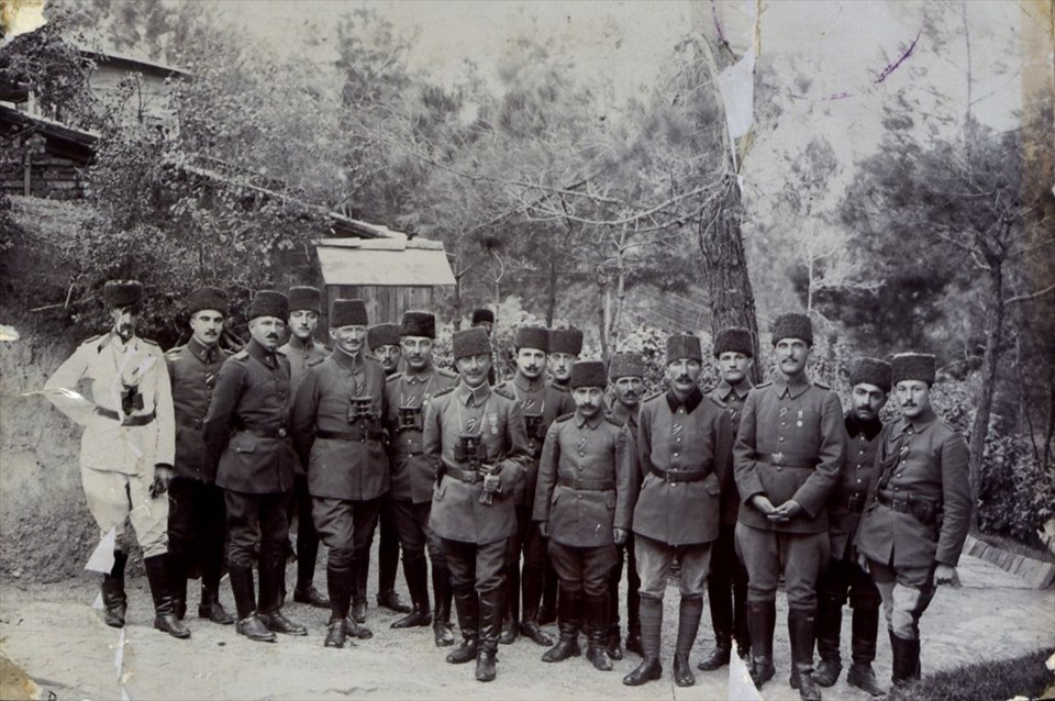 Genelkurmay arşivlerinden az bilinen Çanakkale fotoğrafları 6