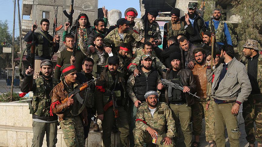 PKK'nın Afrin'deki cephaneliğinden çıkan silahlar hangi ülkele 17
