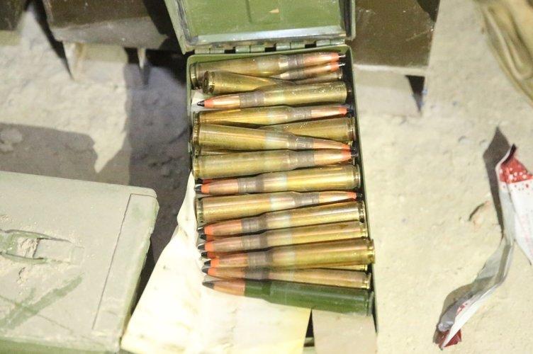 PKK'nın Afrin'deki cephaneliğinden çıkan silahlar hangi ülkele 2