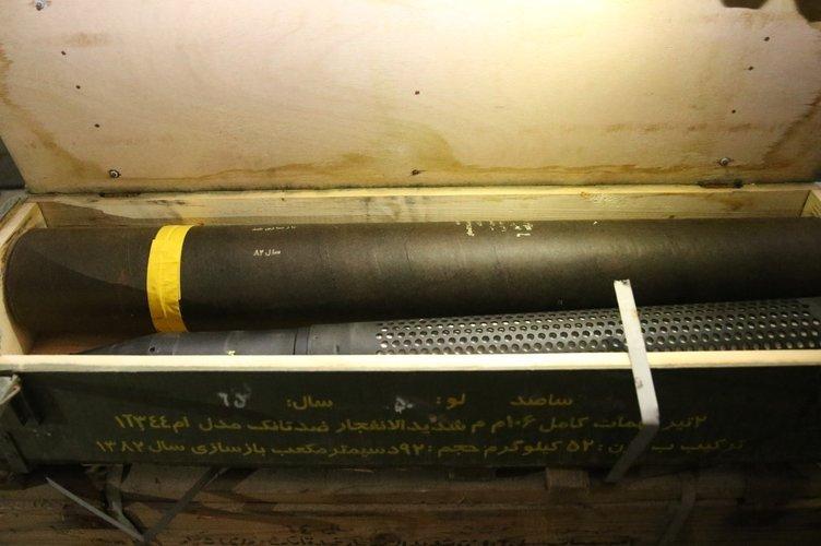 PKK'nın Afrin'deki cephaneliğinden çıkan silahlar hangi ülkele 4