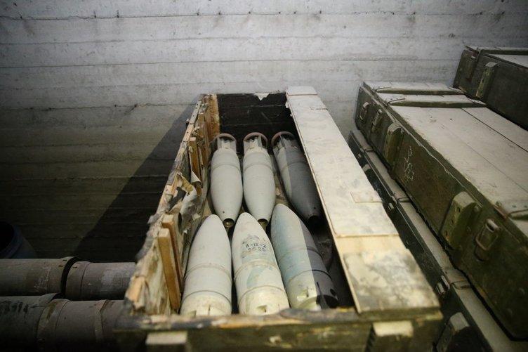 PKK'nın Afrin'deki cephaneliğinden çıkan silahlar hangi ülkele 8