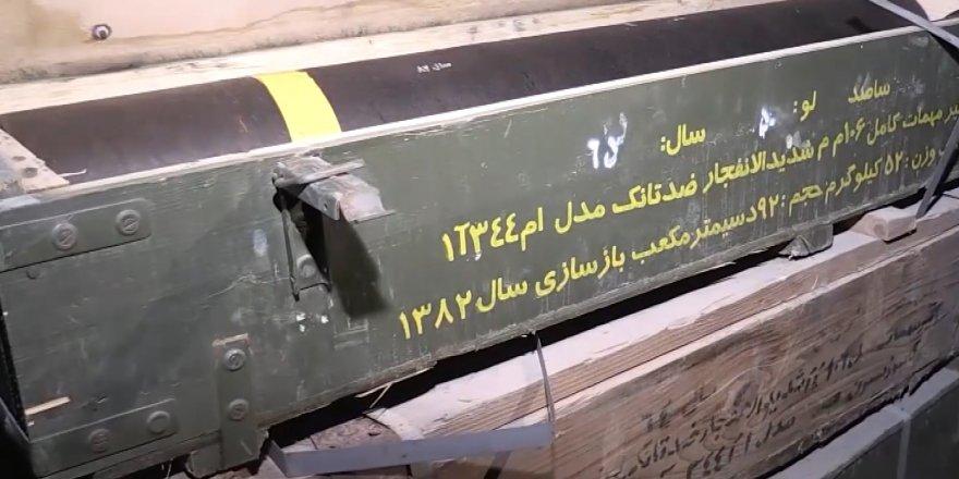 PKK'nın Afrin'deki cephaneliğinden çıkan silahlar hangi ülkele