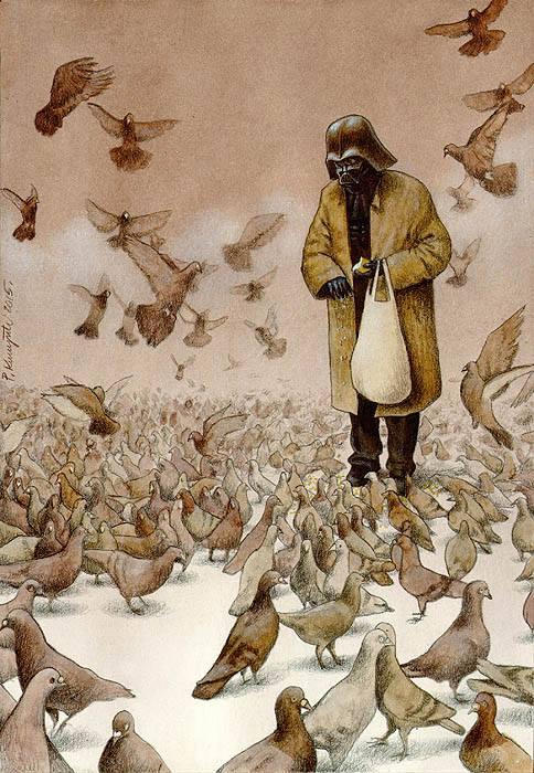 Sanatçı Pawel Kuczynski'den Modern Toplum Eleştirileri 12