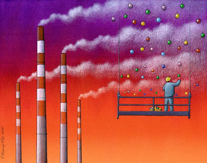 Sanatçı Pawel Kuczynski'den Modern Toplum Eleştirileri 2