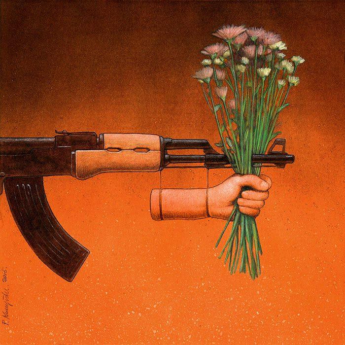 Sanatçı Pawel Kuczynski'den Modern Toplum Eleştirileri 23