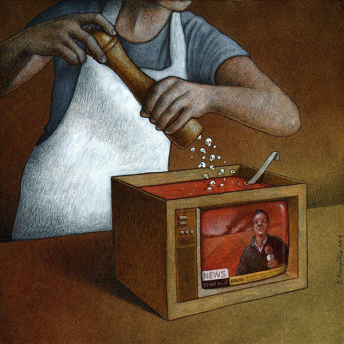 Sanatçı Pawel Kuczynski'den Modern Toplum Eleştirileri 24