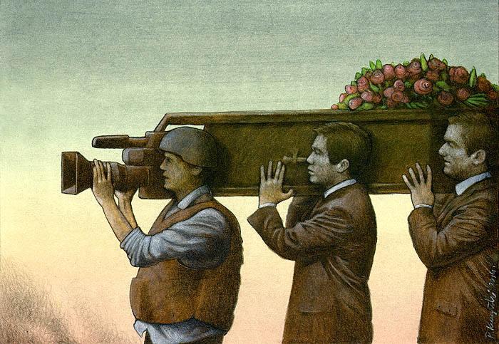 Sanatçı Pawel Kuczynski'den Modern Toplum Eleştirileri 26