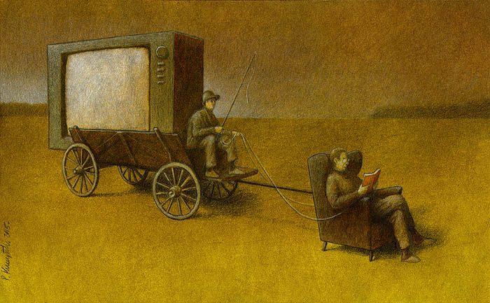 Sanatçı Pawel Kuczynski'den Modern Toplum Eleştirileri 3