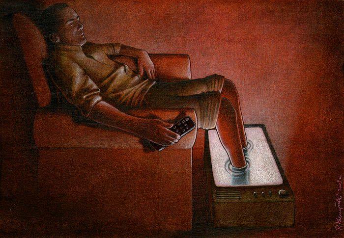 Sanatçı Pawel Kuczynski'den Modern Toplum Eleştirileri 30