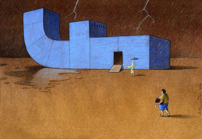 Sanatçı Pawel Kuczynski'den Modern Toplum Eleştirileri 32