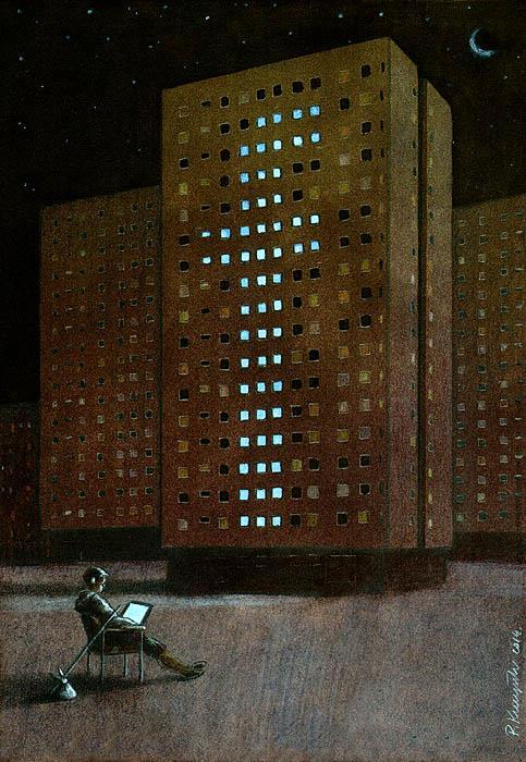 Sanatçı Pawel Kuczynski'den Modern Toplum Eleştirileri 36