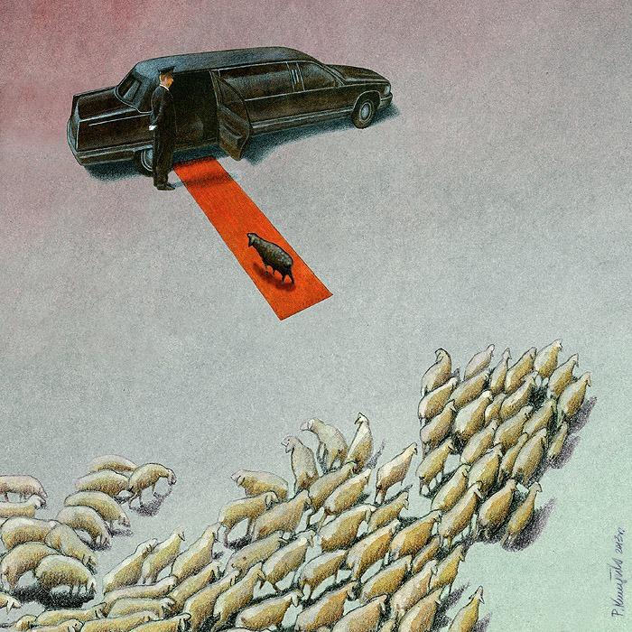 Sanatçı Pawel Kuczynski'den Modern Toplum Eleştirileri 38