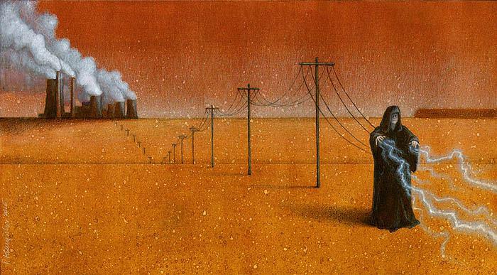 Sanatçı Pawel Kuczynski'den Modern Toplum Eleştirileri 4