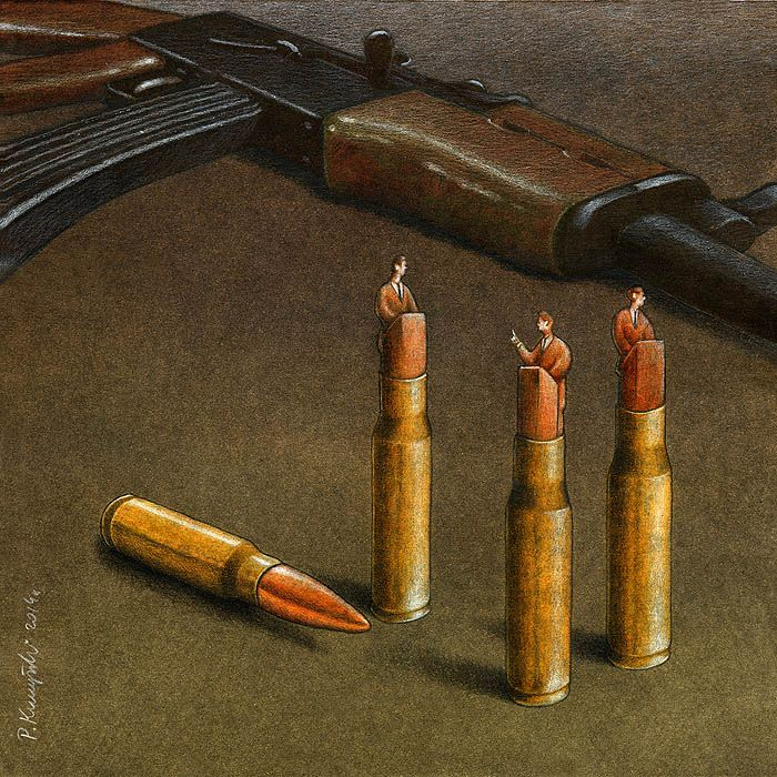 Sanatçı Pawel Kuczynski'den Modern Toplum Eleştirileri 41