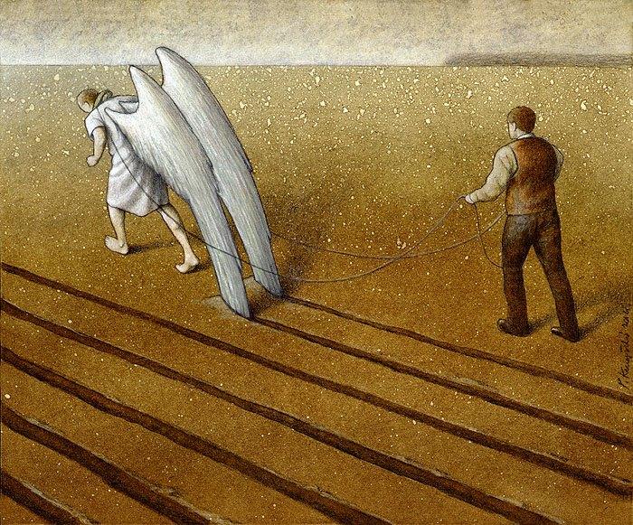 Sanatçı Pawel Kuczynski'den Modern Toplum Eleştirileri 42