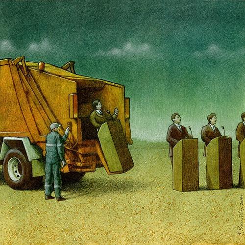 Sanatçı Pawel Kuczynski'den Modern Toplum Eleştirileri 44