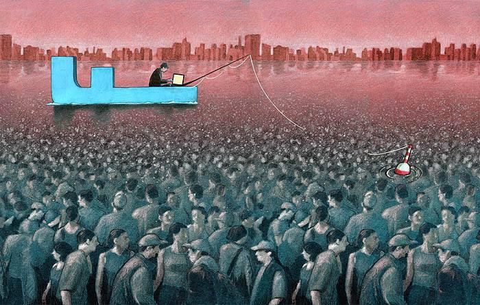 Sanatçı Pawel Kuczynski'den Modern Toplum Eleştirileri 5