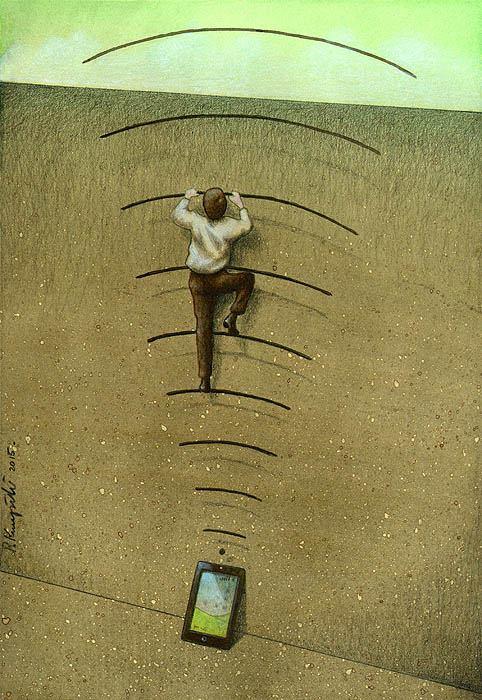 Sanatçı Pawel Kuczynski'den Modern Toplum Eleştirileri 9