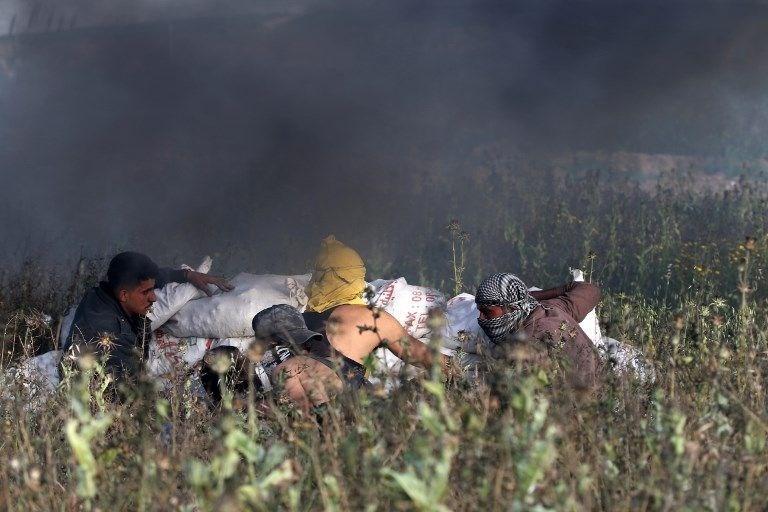 """İsrail'e rağmen Gazze sınırında """"ateş cuması"""" eylemi: 2 ö 10"""