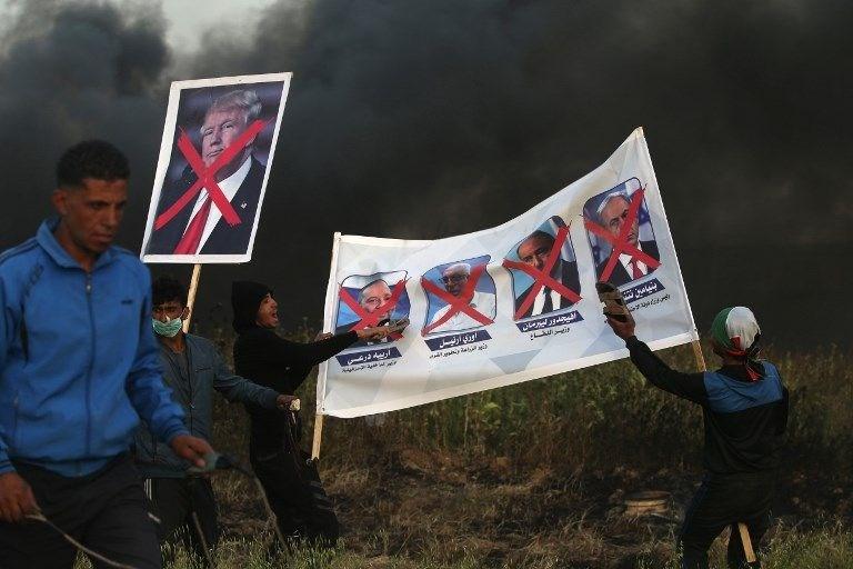 """İsrail'e rağmen Gazze sınırında """"ateş cuması"""" eylemi: 2 ö 13"""