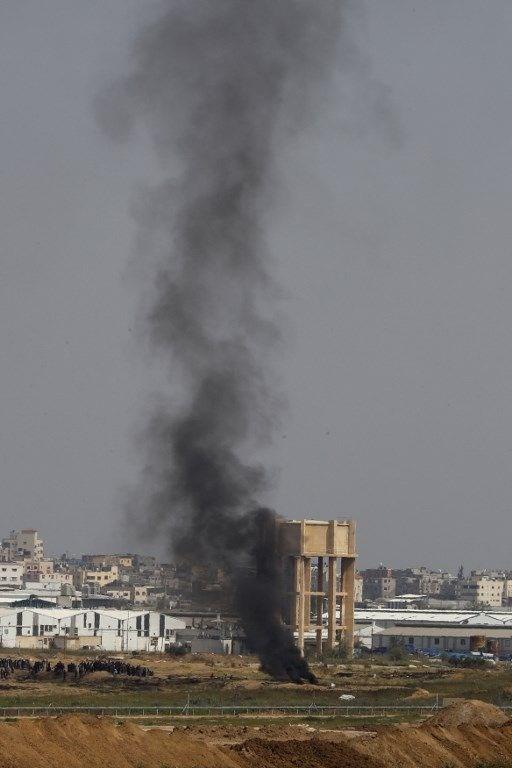 """İsrail'e rağmen Gazze sınırında """"ateş cuması"""" eylemi: 2 ö 15"""
