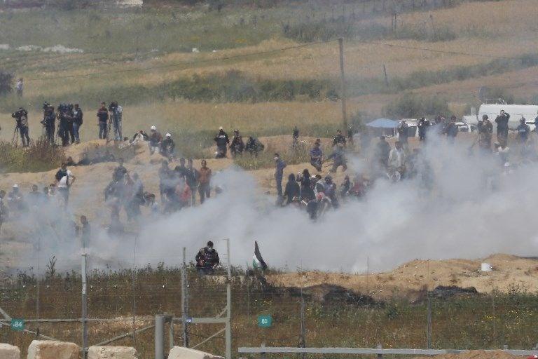 """İsrail'e rağmen Gazze sınırında """"ateş cuması"""" eylemi: 2 ö 19"""