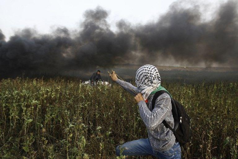"""İsrail'e rağmen Gazze sınırında """"ateş cuması"""" eylemi: 2 ö 2"""