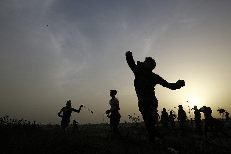 """İsrail'e rağmen Gazze sınırında """"ateş cuması"""" eylemi: 2 ö 3"""