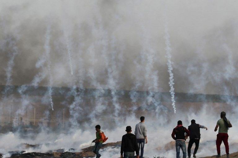 """İsrail'e rağmen Gazze sınırında """"ateş cuması"""" eylemi: 2 ö 7"""
