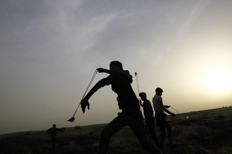 """İsrail'e rağmen Gazze sınırında """"ateş cuması"""" eylemi: 2 ö 8"""
