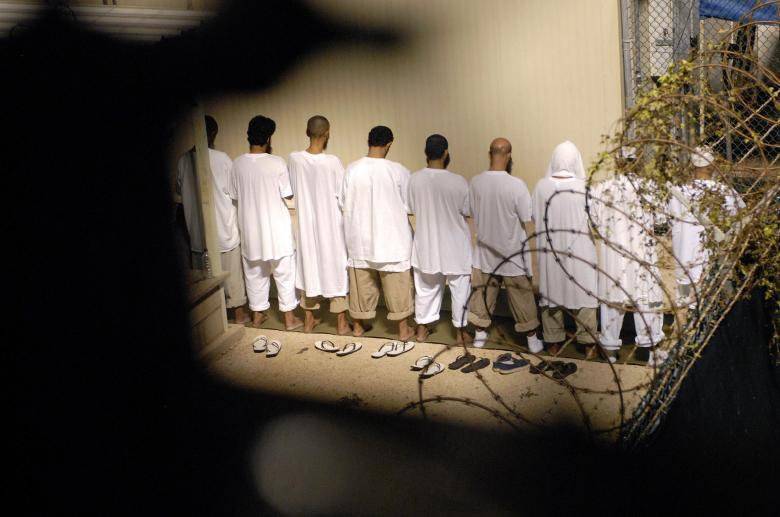 Guantanamo tutuklularının yaşamı 1