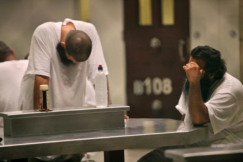 Guantanamo tutuklularının yaşamı 5