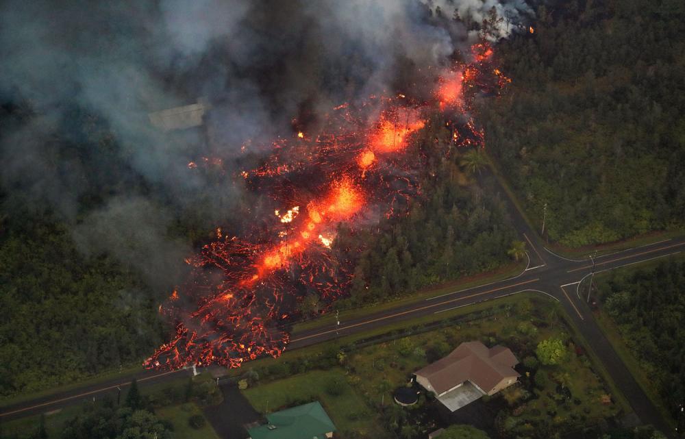 Hawaii'de yanardağ alarmı 1