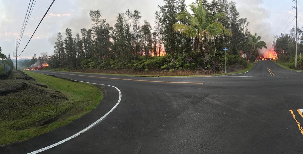 Hawaii'de yanardağ alarmı 11