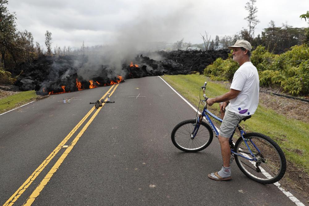 Hawaii'de yanardağ alarmı 15