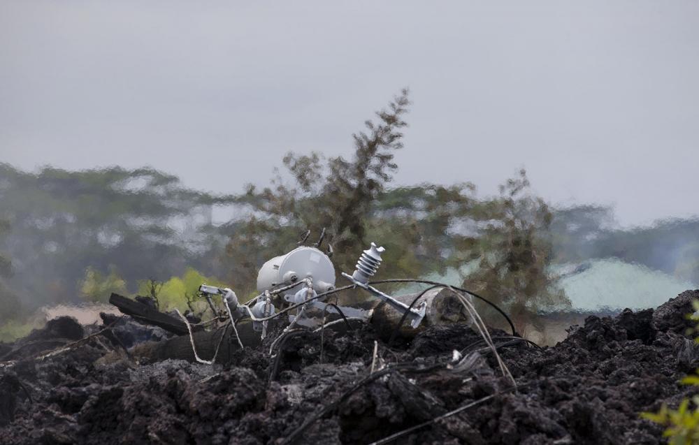 Hawaii'de yanardağ alarmı 18