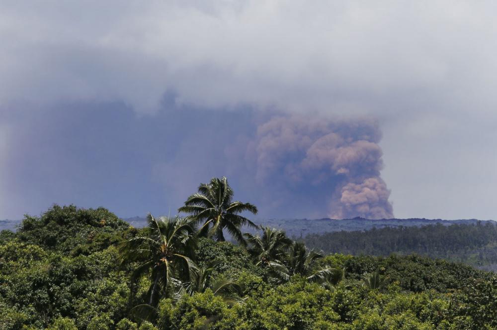 Hawaii'de yanardağ alarmı 19