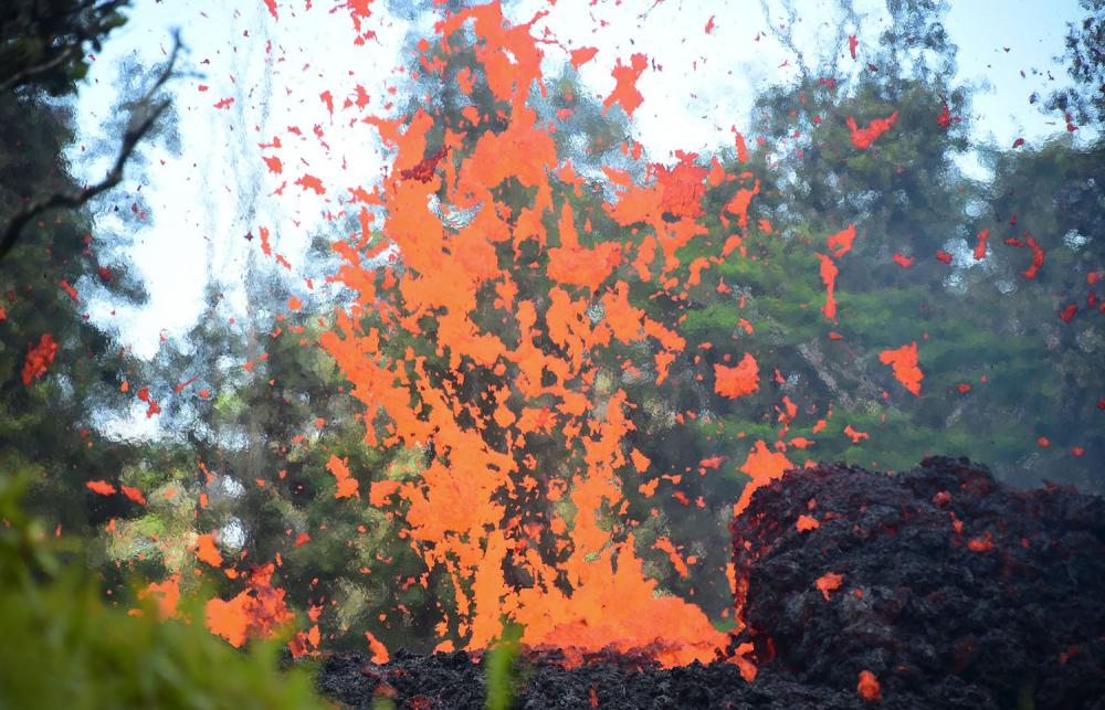 Hawaii'de yanardağ alarmı 2
