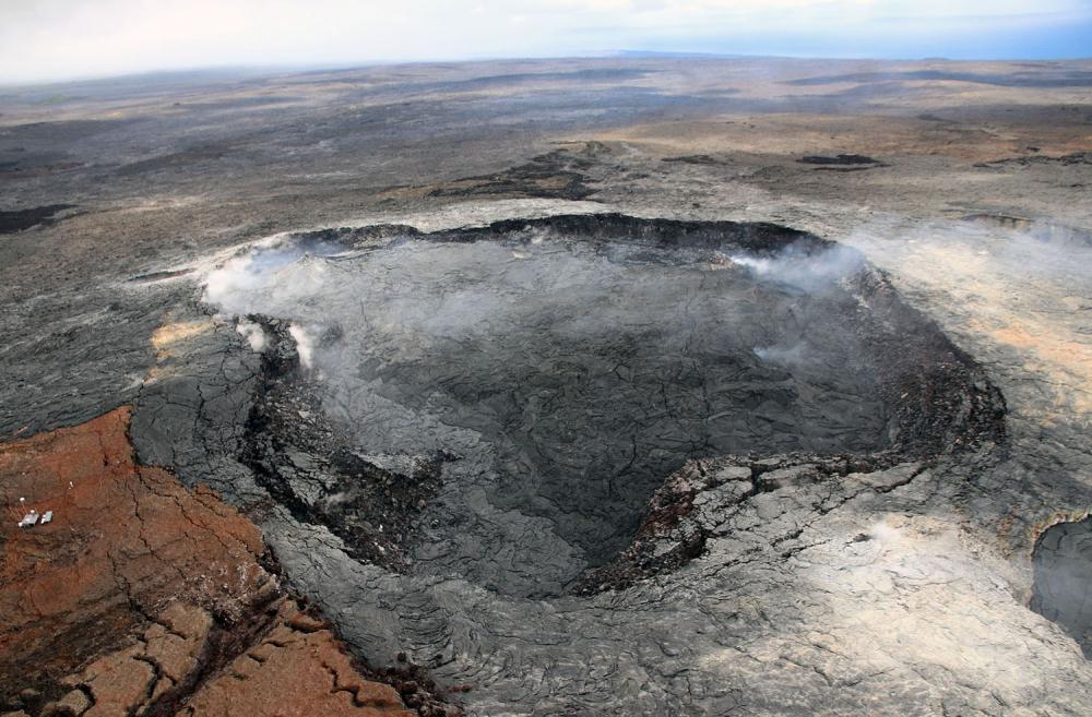 Hawaii'de yanardağ alarmı 20